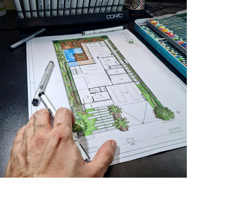 projetos de paisagismo e arquitetura casa de alto padrão - Marcelo Marttins